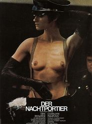 "The Night Porter, 1974 - German poster! Check out Charlotte Rampling and Sidney Lumet on set of 'The Verdict"" right here Charlotte Rampling, The Night Porter, Stars Nues, Cinema Posters, Original Movie Posters, Ballet, Cult Movies, Social Club, Cool Posters"