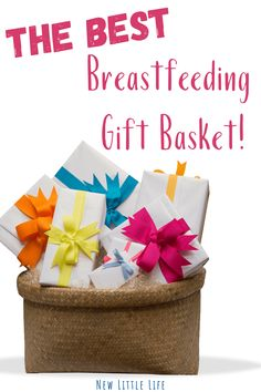 The Ultimate list of ideas for a breastfeeding gift basket, perfect for any baby shower, friend, or family member. Complied by a lactation counselor, doula, and mom!   #breastfeedinggift #babyshowergiftideas #breastfeeding #breastfeedingsupplies #newlittlelife via @newlittlelife Breastmilk Storage Bags, Increase Milk Supply, Nursing Pads, Breastfeeding And Pumping, Breast Feeding, Doula, Gift Baskets, Baby Shower Gifts, Mom