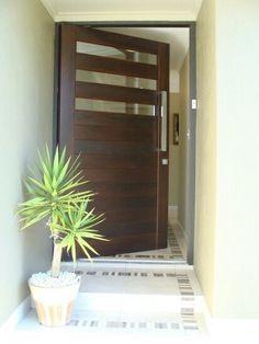 #Puerta #exterior #principal