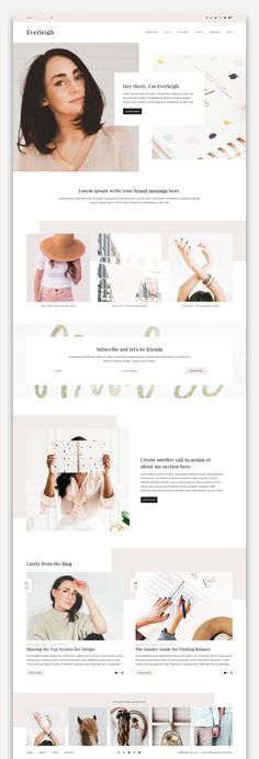 Everleigh is a chic and sophisticated WordPress theme that is packed with features for the modern blogger. With its feminine design and customization options, Everleigh is the perfect choice for online businesses, creatives, bloggers, and influencers looking to transform their online presence. The Everleigh theme comes with a set of eight beautifully-designed pages, including five home page options.