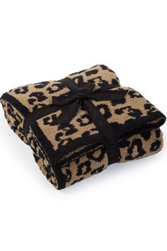 Barefoot Dreams In The Wild CozyChic Leopard Throw. 20% OFF with Code: FirstOrder