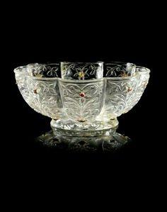 Mughal rock crystal bowl