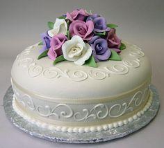 Good design for single layer cake                                                                                                                                                                                 More