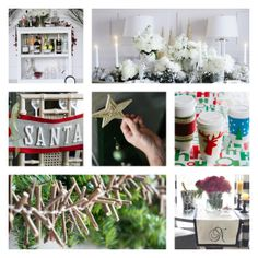 Are you having fun at our #HolidayHouse Pin Party?  The party's drawing to a close but before we say goodnight, we want to leave you with a few more of our favorite #DIY #holiday projects.  If you love these, be sure to repin and give them a try!