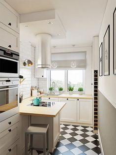 Zdjęcie numer 2 w galerii - Mała kuchnia dobrze urządzona