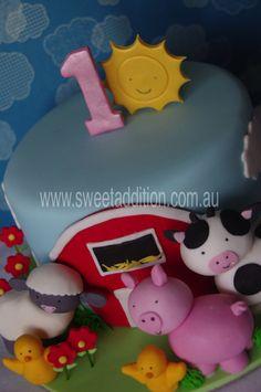 Old MacDonald had a farm... a cake farm :)