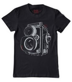 Twin Lens Reflex t-shirt | Designer: Dodge and Burn | 29.00
