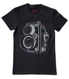 """Twin Lens Reflex t-shirt | Designer: Dodge and Burn"""
