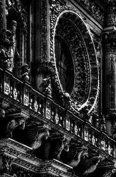 Church of Santa Croce in Lecce, Italy, completed 1695