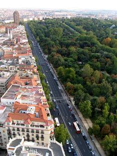Alfonso XII y el Parque del Retiro , Madrid Spain
