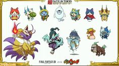 [GAMES] Yo-Kai Watch Jumps into Final Fantasy XIV for An Unlikely Collaboration - http://www.afachan.asia/2016/05/games-yo-kai-watch-jumps-into-final-fantasy-xiv-for-an-unlikely-collaboration/