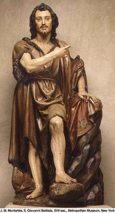Statue of St. John the Baptist