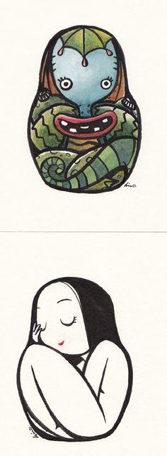 Krazavitza arte de Hiro Kawahara