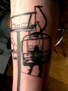 chairlift tattoo