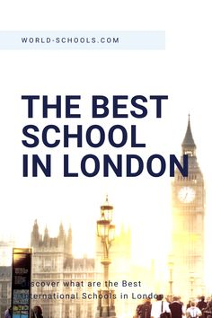 see the post to discover the best international private schools in London, UK, Europe! Best schools in London, International Education. Filter by fee, cost, curriculum, contact the schools directly or request our help