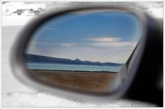 Check your mirror... Playa Tecolote, La Paz, BCS, Mexico