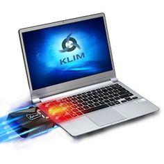 KLIM Cool Refroidisseur PC Portable Gamer [Version 2016] – Ventilateur Haute Performance Pour Refroidissement Rapide – Extracteur d'Air…