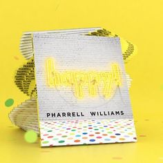 Happy Pharrell, Pharrell Williams Happy, Behance, Happy Kids, One Pic, How To Memorize Things, Childhood, Songs, Graphics
