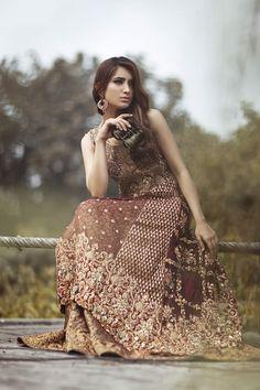 2015 Winter Saira Rizwan Bridal Collection