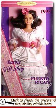 Bahaha i have this doll in a box  Barbie Dolls of the World Collection  1997 Puerto Rican Barbie Doll