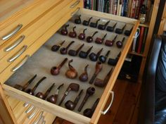 pipe collection. I want one of these storage cases for my pipes. CC