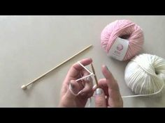 Avvio con 2 fili - Long Tail Cast on It Cast, Hair Accessories, Embroidery, Knitting, Qvc, Crochet, Stitches, Youtube, Sewing