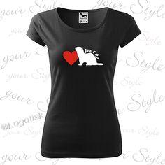Výroba potisku na tričko s Fretkou ajménem na přání V Neck, T Shirts For Women, Tops, Fashion, Moda, Fashion Styles, Fashion Illustrations