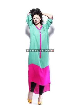 MALAI #LAWN KURTI ONLY #women #style #fashion #womenswear #kurti #onlinemela  Order Now: +92-334-333-6352