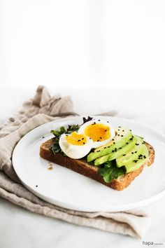 Whether you're looking for a quick and easy breakfast during the week or an elegant brunch to be savored on the weekend, Miso Avocado Toast with Soft Boiled Egg has got you covered! 10 minutes is all you need