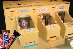 Picture of HOW TO MAKE CHOCOLATE VENDING MACHINE