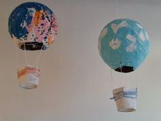 Diy And Crafts, Crafts For Kids, Balloon Crafts, Hot Air Balloon, Kids And Parenting, Balloons, Teaching, Education, Children