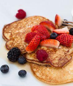 Lemon Ricotta Pancakes: Bright twist on an old staple.