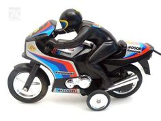 KAWASAKI Remote Control Motorrad - cyan74.com vintage and pop culture