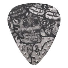 Crazy Abstract Pattern Celluloid Guitar Pick