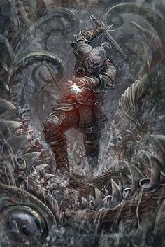 "Space Marine Fighting TV Game 62/""x24/"" Poster 037 Warhammer 40k"