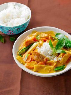 Puten-Erdnuss-Curry Rezept - [ESSEN UND TRINKEN]