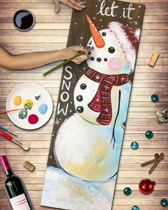 Join us at Pinot's Palette - Des Moines on Thu Nov 2019 for Snowman's Wish. Event Calendar, Thursday, Snowman, Disney Characters, Fictional Characters, November, Palette, Art, November Born