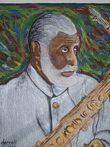 Saxophone Player Painting - Sax Man Sonny Rollins by Darrell Hughes Sax Man, Sonny Rollins, Saxophone Players, Little Star, Fine Art America, Jazz, Entertainment, Pure Products, Facebook