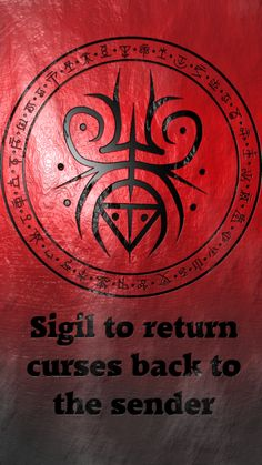 Wolf Of Antimony Occultism — Sigil to return curses back to the sender Protection Sigils, Symbole Protection, Protection Tattoo, Wiccan Spell Book, Witch Spell, Magic Symbols, Ancient Symbols, Magick Spells, Witchcraft