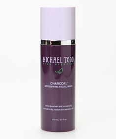 Look at this #zulilyfind! Charcoal Detoxifying Facial Mask by MICHAEL TODD true organics #zulilyfinds