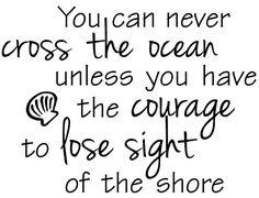 Courage quote via www.Facebook.com/PositivelyBeautiful