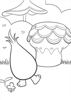 Trolls Coloring Pages 10