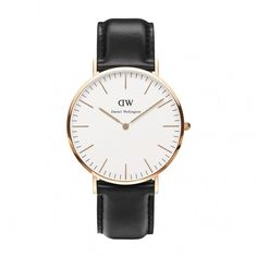 Ladies Daniel Wellington Classic St Andrews Lady rose gold-plated and brown leather strap watch. The Daniel Wellington Classic St Andrews Lady is an elegant timepiece and the epitome of perfection in engineering. This St Andrews model has a refined eggshe Daniel Wellington Men, Daniel Wellington Classic Sheffield, Black Leather Watch, Leather Watch Bands, Brown Leather, Gold Leather, Leather Case, Patek Philippe, Men Watches