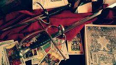 Again my sword and dagger
