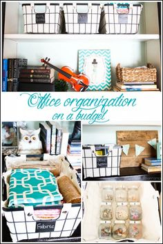 Office organization tips on a budget and a Walmart giveaway - Ask Anna  #giveaway #organize #officeorganization