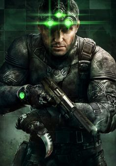 Splinter Cell Blacklist by Two Dots , via Behance  Splinter Cell Blacklist_Grim  http://pinterest.com/pin/7248049373255592/