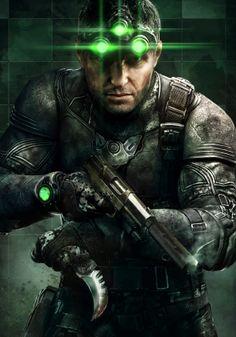 Splinter Cell Blacklist by Two Dots , via Behance  Splinter Cell Blacklist_Grim  http://pinterest.com/pin/7248049373255592/