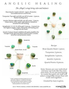 crystal healing Rose Quartz, Turquoise, Azurite crystals to calm and balance. Crystal Magic, Crystal Grid, Crystals And Gemstones, Stones And Crystals, Wedding Tattoos, Crystal Meanings, Healing Stones, Healing Crystals, Chakra Healing