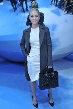 Front Row at Dior - Slideshow - Runway, Fashion Week, Reviews and Slideshows - WWD.com