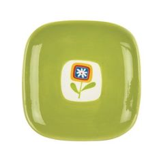 """Omniware Jardin 7"""" Plate - Citron by Omniware. $7.99. Jardin Matisse collection. Dishwasher and microwave-safe. Hand painted. Size approx. 7"""" x 7"""". Charming flower motif plate for desserts and treats. Hand painted."""